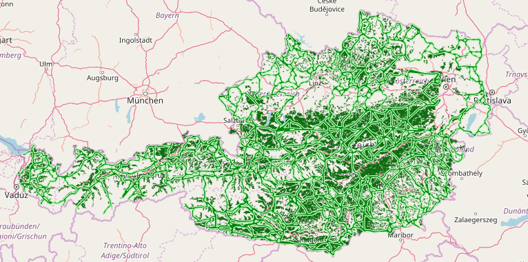 Ecological network Austria to support and secure the biodiversity in Austria